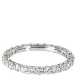 Tiffany & Co. Eternity Embrace 0.85 CTW Diamond Platinum Band Ring Size 50.5 284598