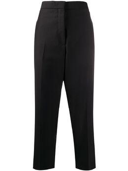 Jil Sander укороченные брюки прямого кроя JSPQ301501WQ211000