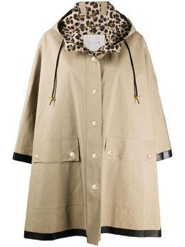 Mackintosh плащ на кнопках с капюшоном RO5057