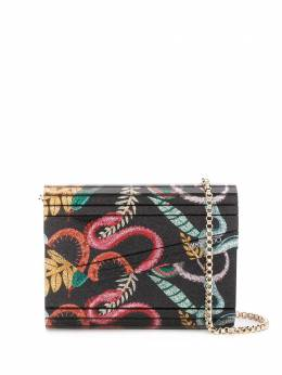 Jimmy Choo сумка через плечо Candy со змеиным принтом CANDYAFP