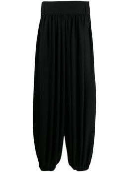 Saint Laurent брюки с низким шаговым швом 596957Y1A93