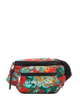 Givenchy поясная сумка с цветочным принтом BK5037K0W1
