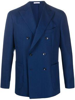 Boglioli двубортный пиджак узкого кроя BAS534N4302E