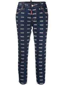 Dsquared2 укороченные джинсы Icon S80LA0001S30342