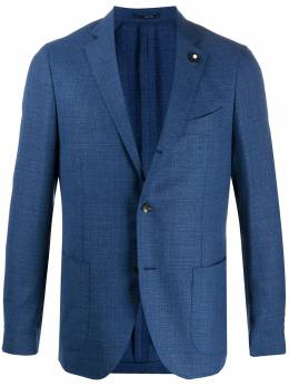 Lardini однобортный пиджак EI528AVEIC54505