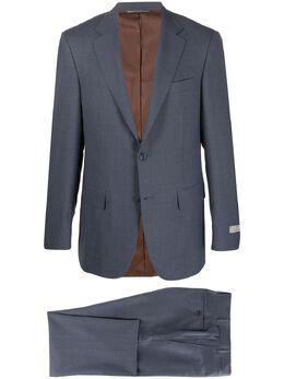 Canali костюм-двойка строгого кроя AA026381328019