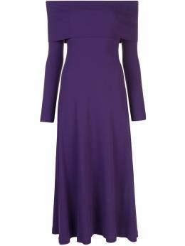 Rosetta Getty платье с открытыми плечами 12204S0260