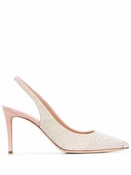 Giuseppe Zanotti Design декорированные туфли с ремешком на пятке E050000