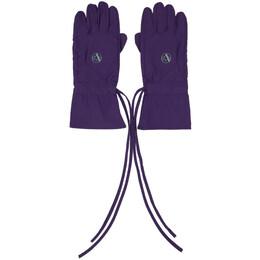 Raf Simons Purple Labo Gloves 201-962