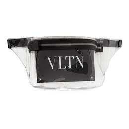 Valentino Transparent Valentino Garavani PVC VLTN Galaxy Belt Bag TY2B0827LPQ