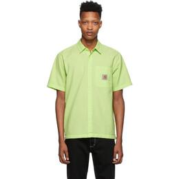 Carhartt Work In Progress Green Southfield Shirt I027510