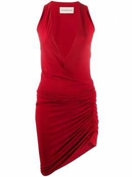 Alexandre Vauthier платье асимметричного кроя с V-образным вырезом 201DR12060191