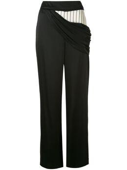 Monse атласные брюки с драпировкой MR19E0711CES