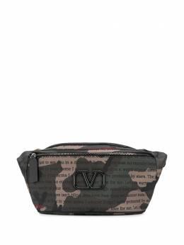 Valentino Garavani поясная сумка с логотипом VLogo TY2B0827XAL