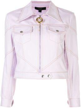 Ellery приталенная куртка на молнии 50051077100