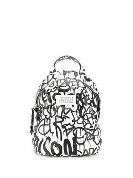 Maison Margiela рюкзак с принтом граффити S56WA0014P0597