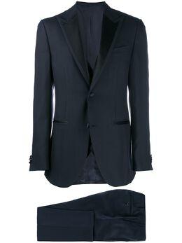 Corneliani деловой костюм-тройка 8380799118299
