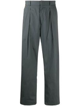 Valentino прямые брюки с лампасами TV0RBE4567G