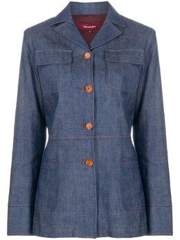 Sies Marjan джинсовая куртка строгого кроя 16NI1049