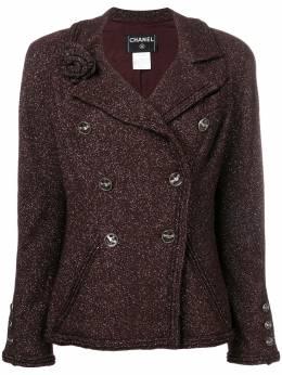 Chanel Pre-Owned двубортная куртка DPLGSCHA254099
