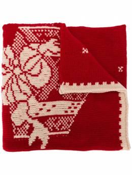 Etro шарф с логотипом вязки интарсия 150779463