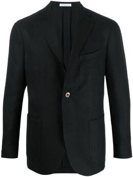Boglioli фактурный пиджак N1302EBRC037