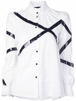 Marc Jacobs блузка с контрастной отделкой V6000031100