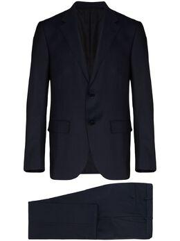 Ermenegildo Zegna костюм-двойка с однобортным пиджаком 71655322M22Y