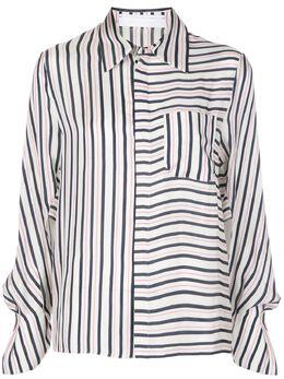 Roland Mouret рубашка с длинными рукавами и контрастными полосками PADLEYTOPS0842F0388