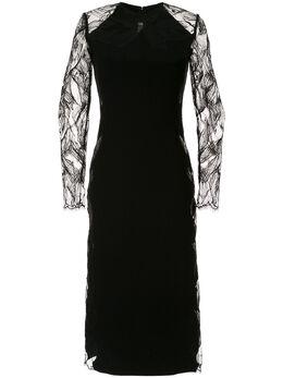 Dion Lee платье миди из цветочного кружева A9653R20