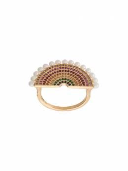Rosa De La Cruz кольцо с жемчугом и бриллиантами RBW1003