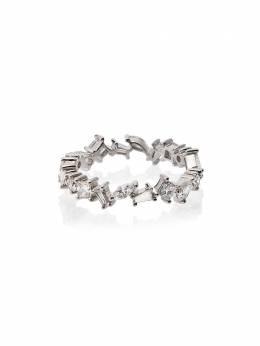 Rosa De La Cruz кольцо из белого золота 18 карат с бриллиантами CSC9050