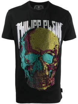 Philipp Plein футболка с принтом S20CMTK4333PJY002N