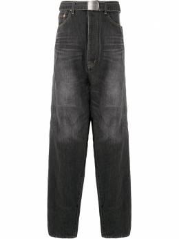 Doublet джинсы оверсайз Chaos с вышивкой 20SS13PT121