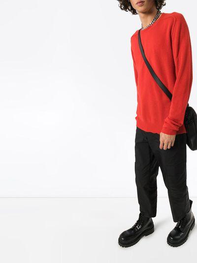 Bottega Veneta кашемировый свитер с круглым вырезом 603610VKJX0 - 2