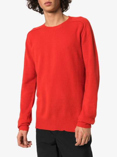 Bottega Veneta кашемировый свитер с круглым вырезом 603610VKJX0 - 3