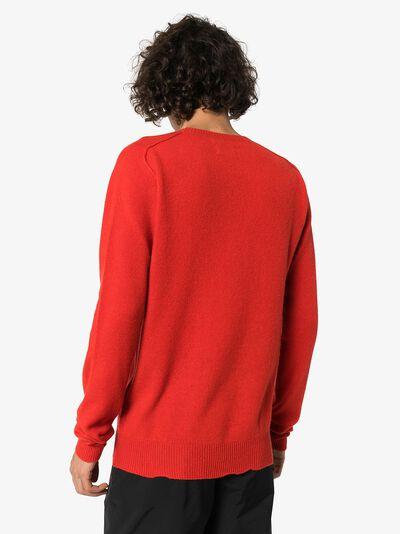 Bottega Veneta кашемировый свитер с круглым вырезом 603610VKJX0 - 4