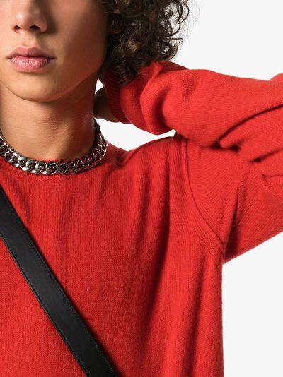 Bottega Veneta кашемировый свитер с круглым вырезом 603610VKJX0 - 5