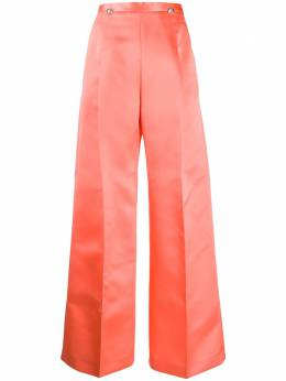 Christopher Kane брюки Dome SS20TR546HEAVYSATINCORAL