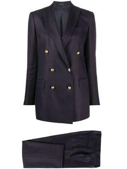 Tagliatore костюм с двубортным пиджаком TJASMINE00BS34239