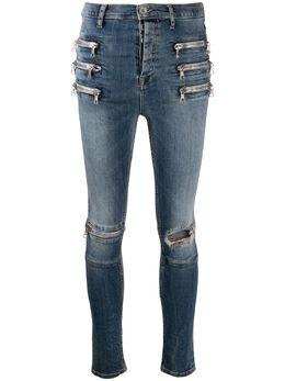 Unravel Project джинсы скинни с молниями UWYB017F19DEN001