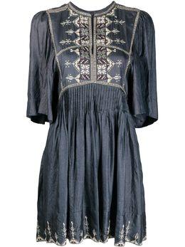 Isabel Marant Etoile платье с вышивкой RO160920P030E