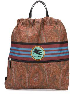 Etro рюкзак с принтом пейсли 1I1048717