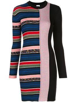 M Missoni платье-джемпер в полоску 2DG003062K004H