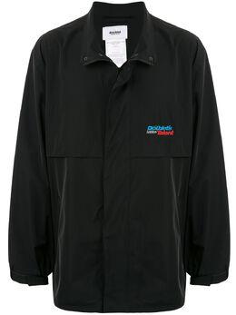 Doublet легкая куртка с вышивкой 20SS10BL101