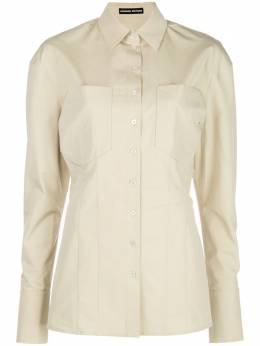 Kwaidan Editions удлиненная поплиновая рубашка SS20WT041WCPCOTTONPOPLIN