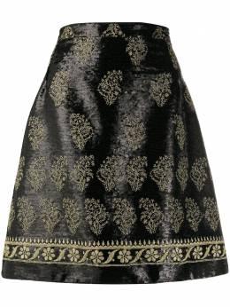 Giambattista Valli юбка А-силуэта с пайетками 20spvci244912grp