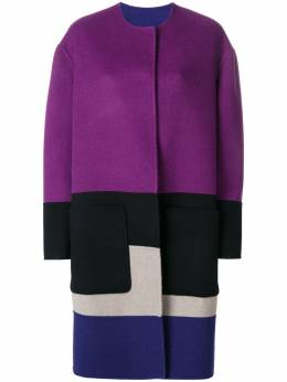 Bottega Veneta reversible colour block coat 513682V0KA2