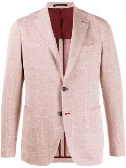 Tagliatore пиджак с узором шеврон 1SMJ22K57ZEJ166