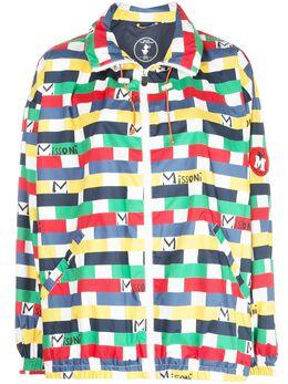 M Missoni куртка с принтом 2DD000032W004J